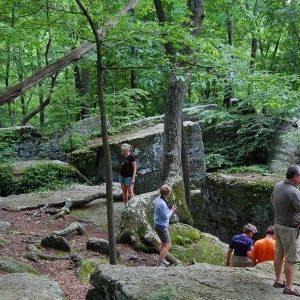 The famous Split Rocks